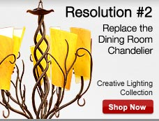 Replace the Dining Room Chandelier