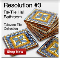 Re-Tile Hall Bathroom