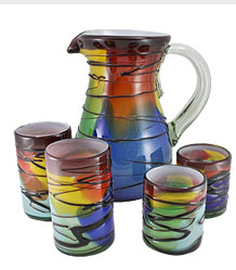 Hand-Blown Glassware