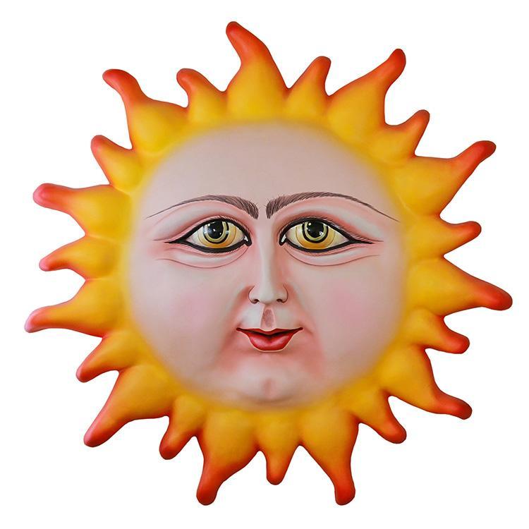 Art By Mundo Pequeno Collection Paper Mache Sun Pm349