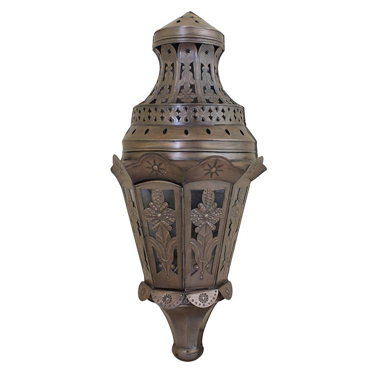 Wall Sconces Mexican : Mexican Tin Lighting Collection - Tres Hojas Wall Sconce - LAMW81