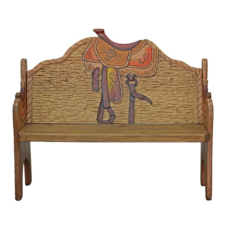 Carved Collection Saddle Bench Cb090