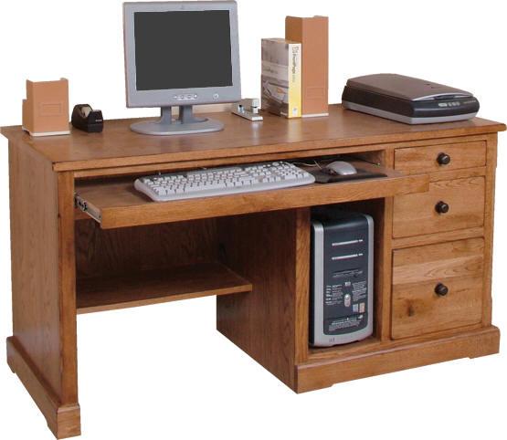 Rustic Oak Slate Collection Rustic Oakcomputer Desk W