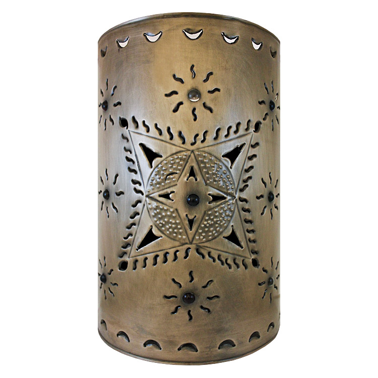 Wall Sconces Mexican : Mexican Tin Lighting Collection - Toluca Wall Sconce - LAMW14