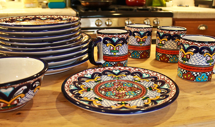 Talavera Dinnerware Collection Dinnerware Pattern 59