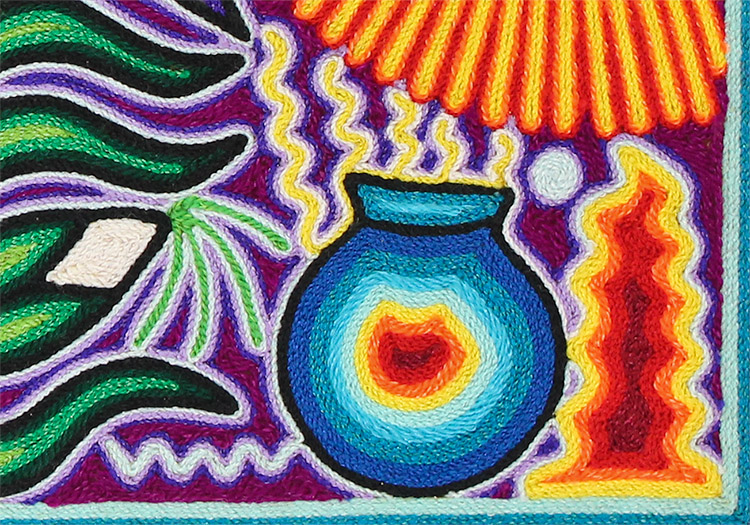 Huichol Yarn Painting 6th Grade - Lessons - Tes Teach