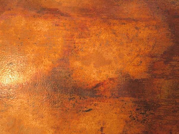 Mirror Decoration rustic oak framed mirrors : Beds u0026 Headboards - Kendra Bed w/Copper Panels - BED-114CU