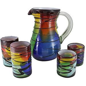 Handblown Picazzo Glassware