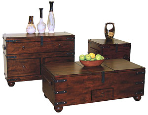 Santa Fe Furniture Collection Trunk Tables
