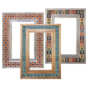 Tin & Talavera Mirrors
