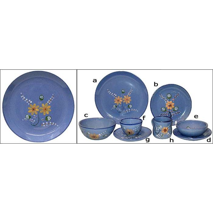 Sunflower Pattern  sc 1 st  La Fuente Imports & Palomar Dinnerware Collection - Sunflower Pattern - PAL01
