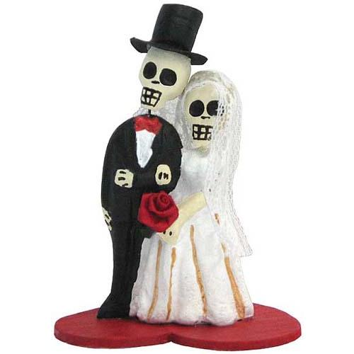 Day of the dead figures collection bride and groom dod056