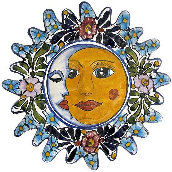 Talavera Wall Art talavera wall art collection - talavera eclipse - twa060