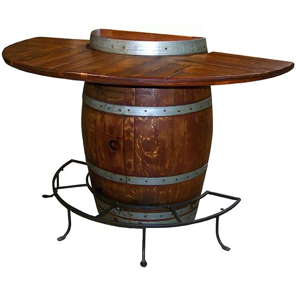 Wine Country Collection Half Barrel Bistro Table WC5011