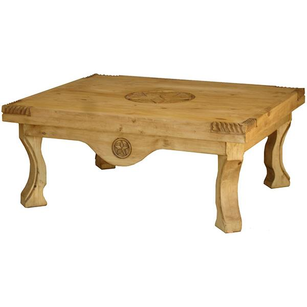 Rustic Pine Collection Yugo 3 Star Coffee Table Cen55