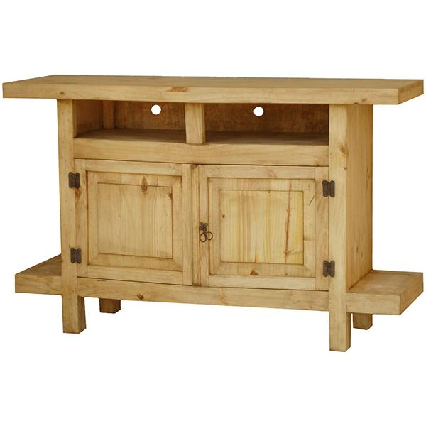 Rustic Pine Collection Juanillo Tv Stand Com29