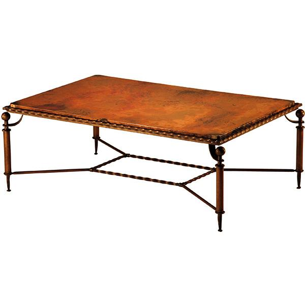Copper Collection Durango Coffee Table Cof 86rect