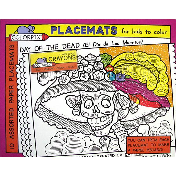 Day of the Dead Gifts for Kids Collection - Day of the Dead Coloring ...