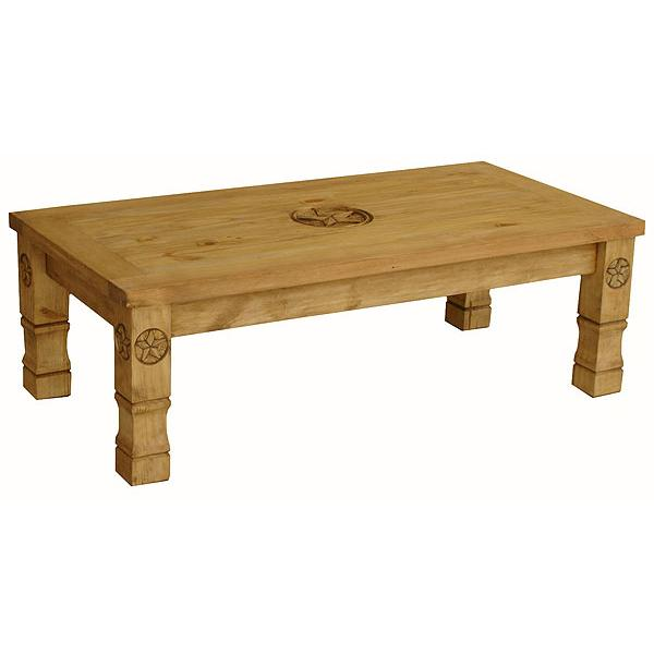 Rustic Pine Collection Marina 9 Star Coffee Table Cen508