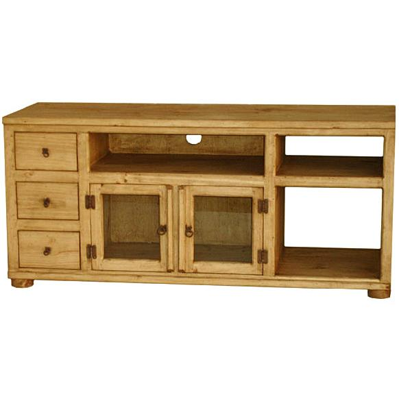 Rustic Pine Collection Rubio Tv Stand Com40