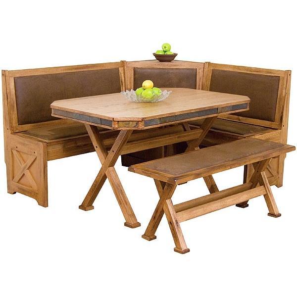 Rustic Oak Slate Collection Rustic Oakbreakfast Nook