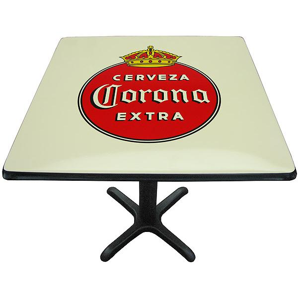 Corona ExtraOld Logo Metal Table