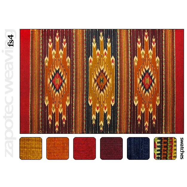 Zapotec Weavings Collection Wool Zapotec Weavingdesign