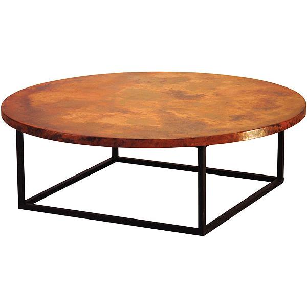 Copper Collection Round Julia Coffee Table Cof 105r