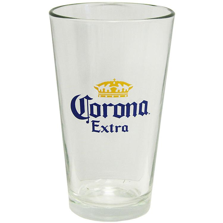 Cantina supplies corona extra pint glass can455 for How to make corona glasses