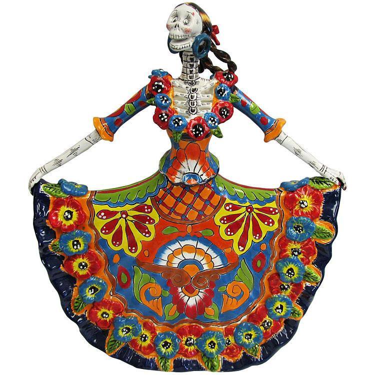 Ballerina in Traditional Dress  sc 1 st  La Fuente Imports & Talavera Day of the Dead - La Fuente Imports