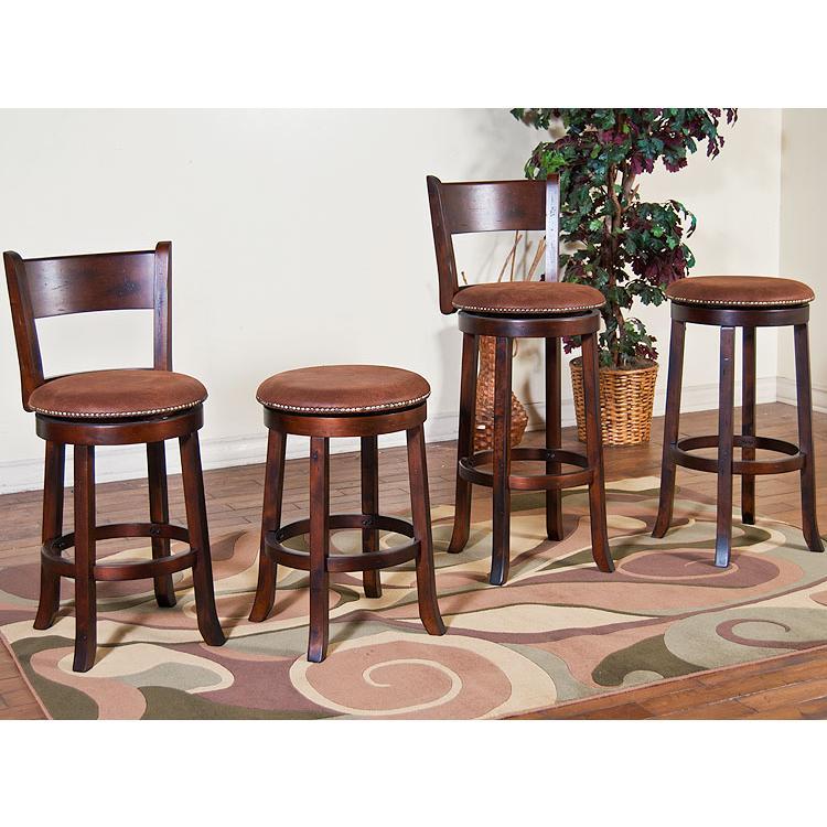 santa fe collection santa feswivel bar stool 1782dc