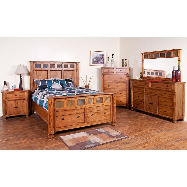 Rustic Oak Sonoma Bedroom Suite
