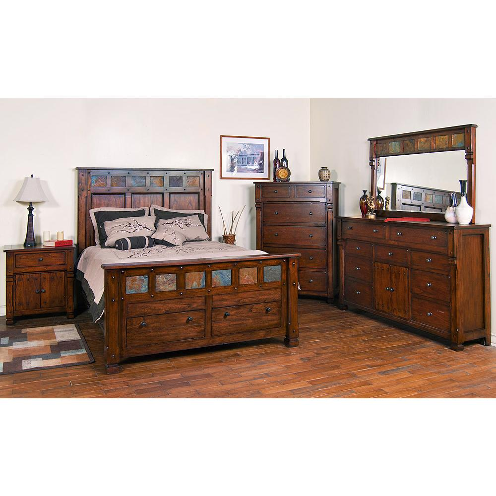 santa fe collection santa febedroom suite 2322dc