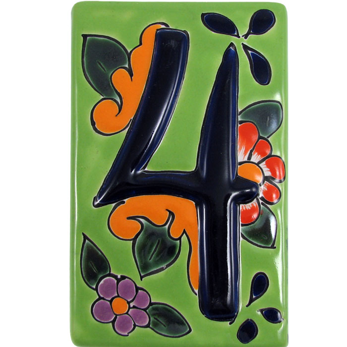 House Number 4:Green Talavera