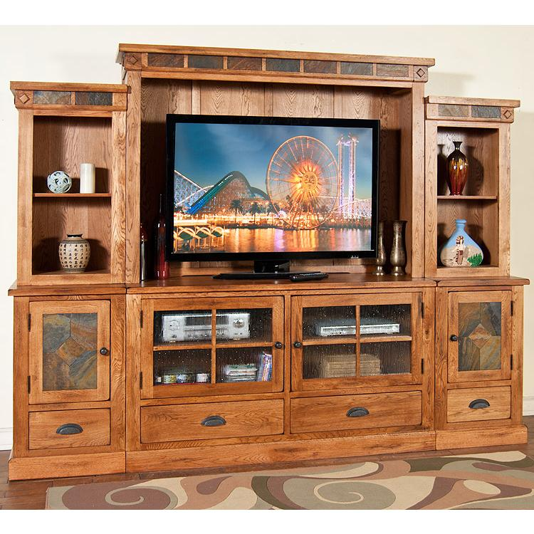 Rustic Oak Amp Slate Collection Rustic Oakentertainment