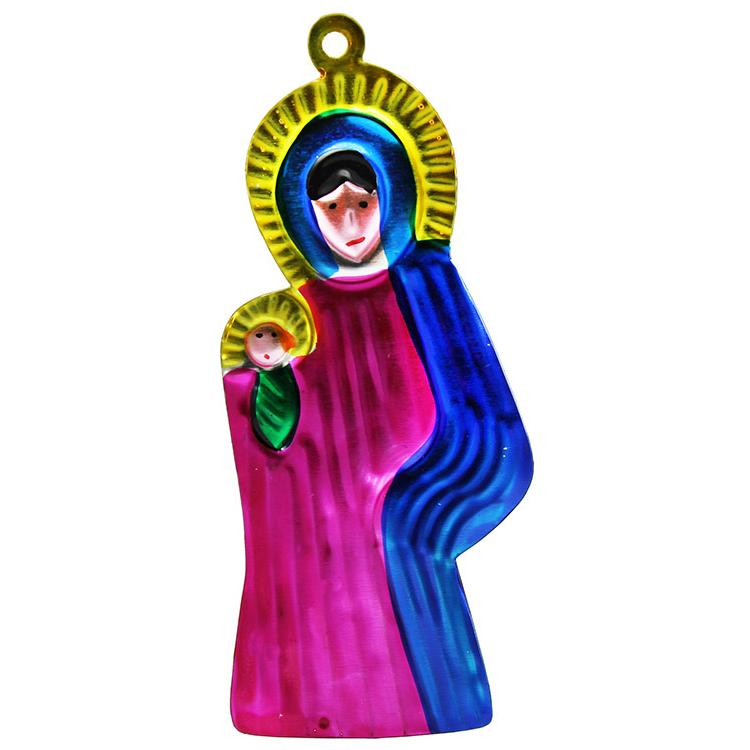 ornaments collection - virgin mary ornament