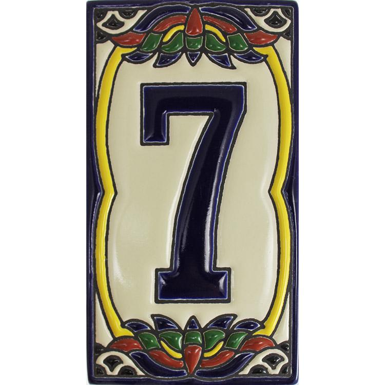 House Number 7:Talavera Relief