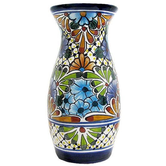 Talavera Jars & Vases Collection - Talavera Vase - TGJ460