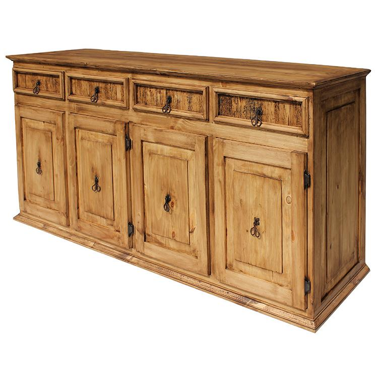 Rustic pine collection xl classic sideboard com06 for Sideboard xl
