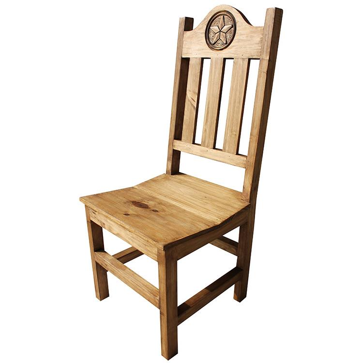 Lone Star Chair - Rustic Pine Collection - Lone Star Chair - SIL539
