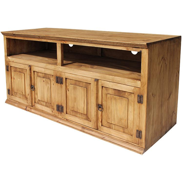 Santana TV Stand - Rustic Pine Collection - Santana TV Stand - COM99