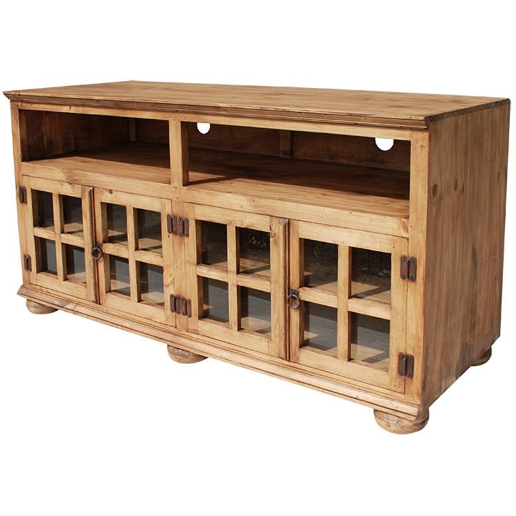 Rustic Pine Collection Jaime Tv Stand Com310