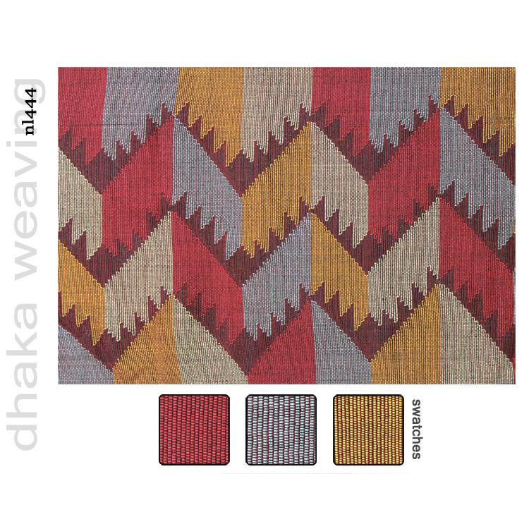 Nepalese fabrics dhaka weaving nl444 for Kitchen decoration nepal