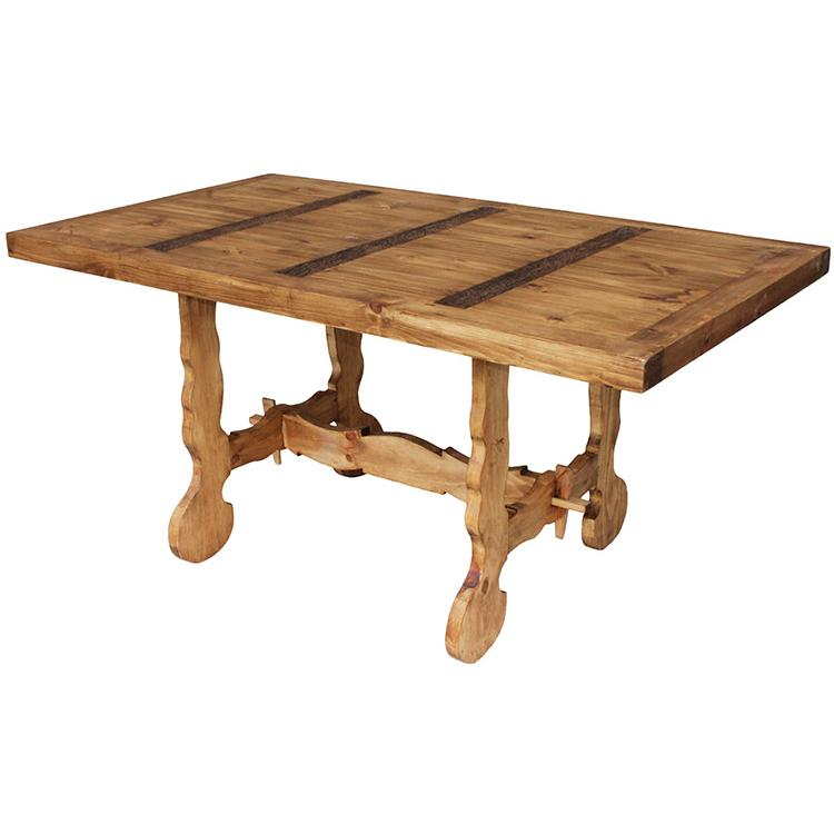 Results For Rustic Pine Collection Farmhouse Dining Table Mes116