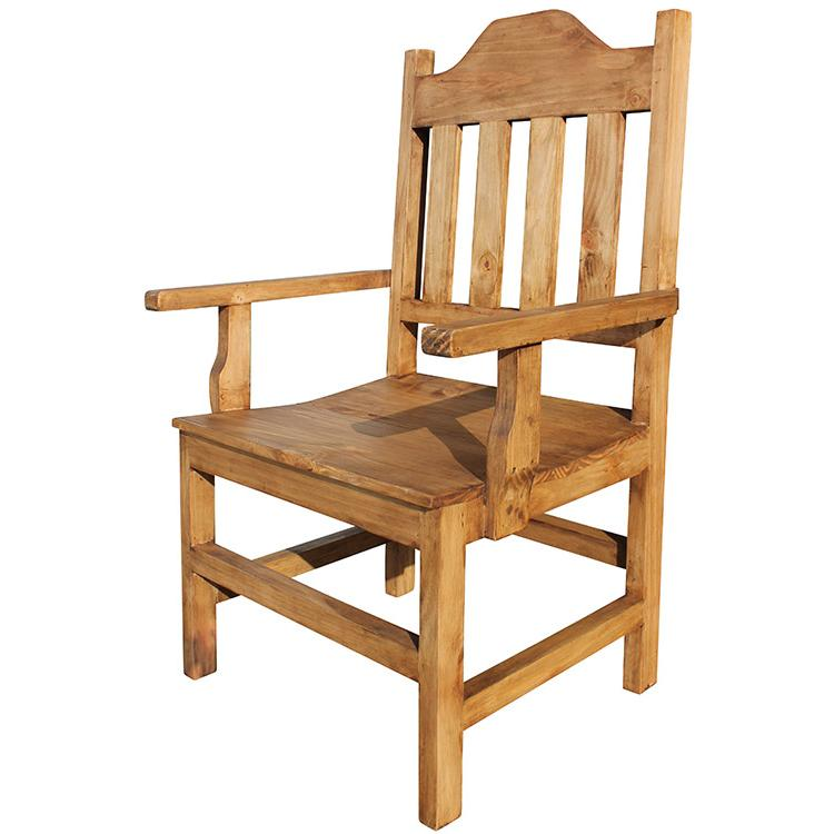 Rustic Pine Collection - Santana Arm Chair - SIL133