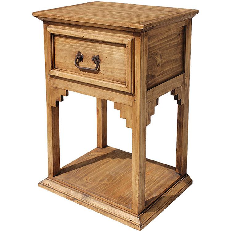 Rustic Pine Collection New Mexico Nightstand Bur70