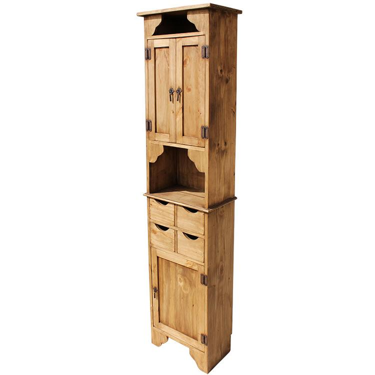 Rustic Pine Collection - Kitchen Storage Cabinet - ACC21 on ideal living room, ideal toys, ideal tools,