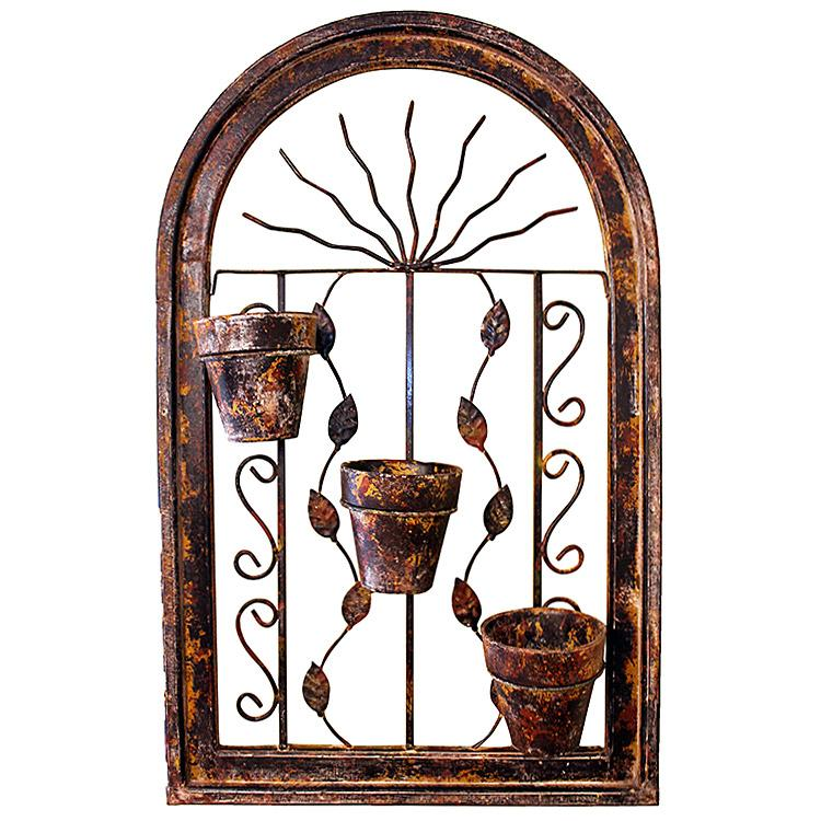 Rustic Arch Wall Decor : Rustic planters collection largearched planter wp
