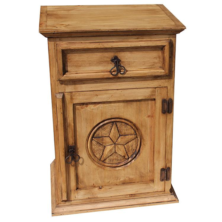 Wonderful Texas Nightstand