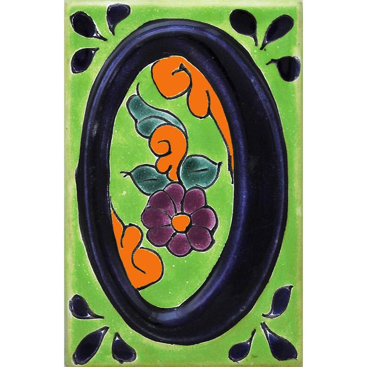 House Number 0:Green Talavera